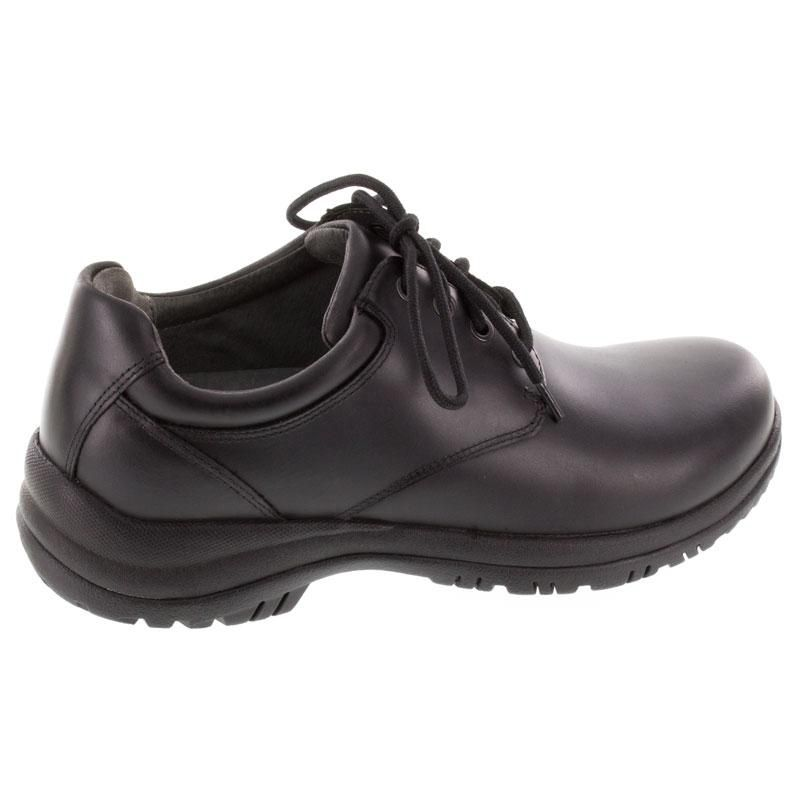 Dansko Walker Black Leather Slip-Resistant