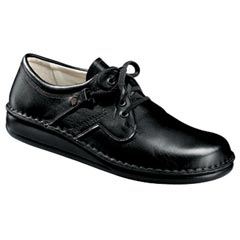 Finn Comfort Prevent Flat Shoe Lth Soft Fb Black