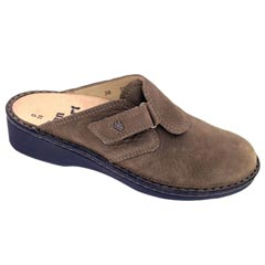 FINN COMFORT ORB LEATHER MUD