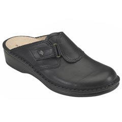 Finn Comfort Orb Leather Black