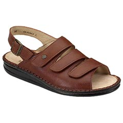 Finn Comfort Sylt Leather Soft Footbed Brandy