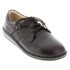 Finn Comfort Prevent Flat Shoe Lth Soft Fb Coffee