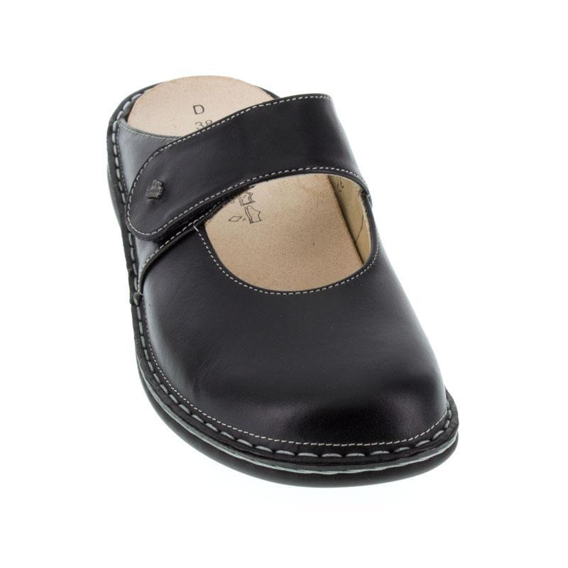 Finn Comfort Stanford Black Leather