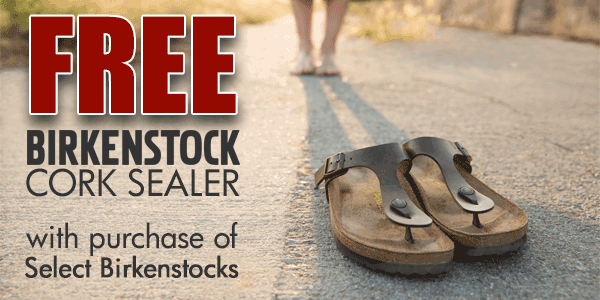 FREE Birkenstock Cork Sealer with Purchase of Select Birkenstock Sandals