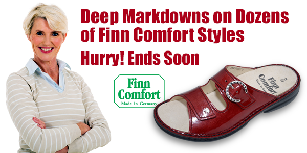 Big Savings on Dozens of Finn Comfort Footwear