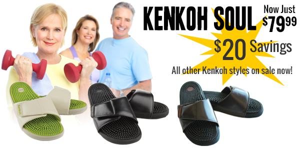 Save $10 to $20 on all Kenkohs including our new Balance Back-strap sandal