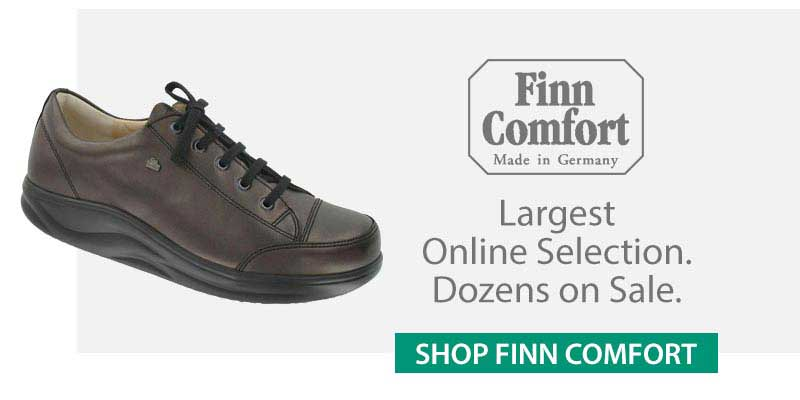 Shop for our complete line of Finn Comfort footwear
