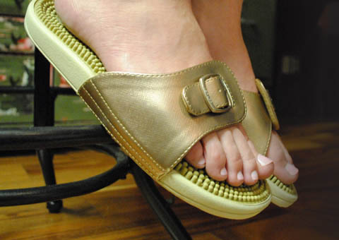 b7785d9354 Get relief from pain and stress with Kenkoh Massage Sandals