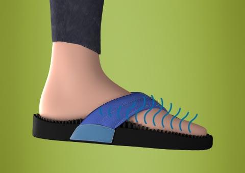 b2ea1c1d681a0e Kenkoh Massage Sandals