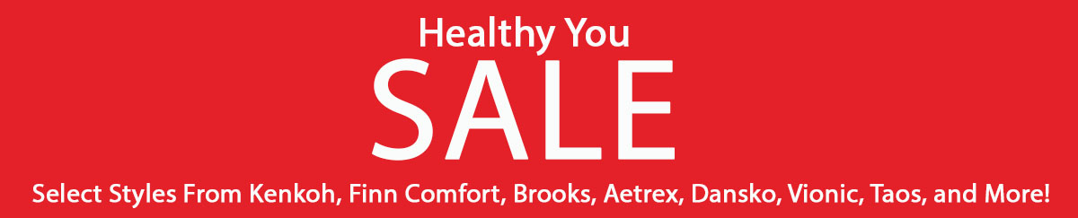 Save Big on the Best in Health and Comfort Footwear