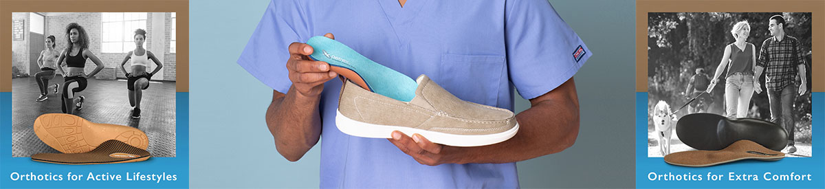 Lynco Orthotics by Aetrex gives you support all day long. Buy now.