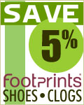 Save 5% on Footprints Shoes & Clogs