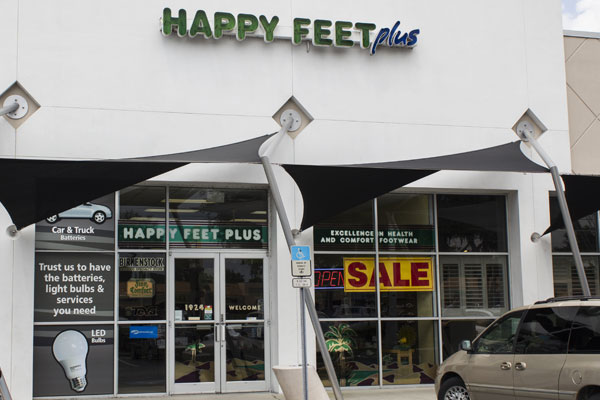 Happy Feet Plus Brandon Storefront