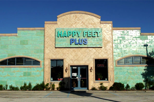 Happy Feet Plus Countryside LEED-certified Storefront