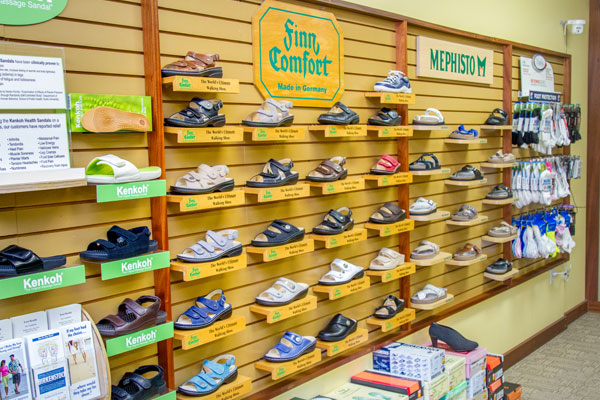 Happy Feet Plus Ellenton carries many health and comfort footwear brands