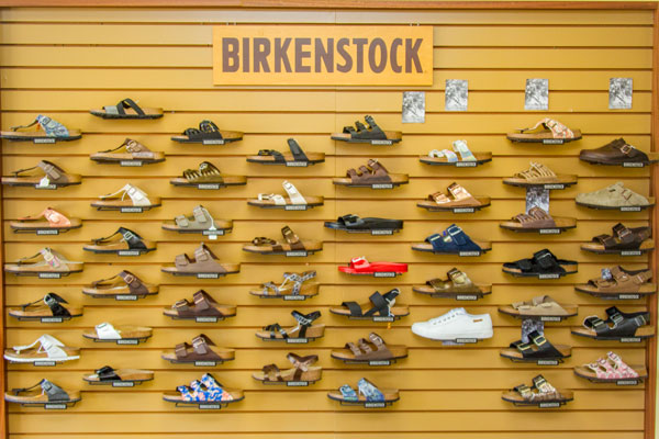 Happy Feet Plus Ellenton sells a wide selection of Birkenstock footwear