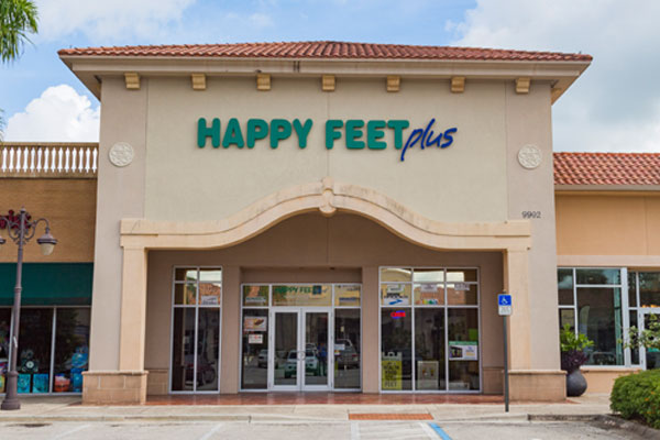 Happy Feet Plus Fort Myers Storefront