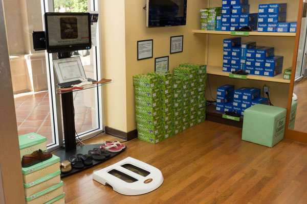 Happy Feet Plus Fort Myers uses digital foot scan to get the perfect fit