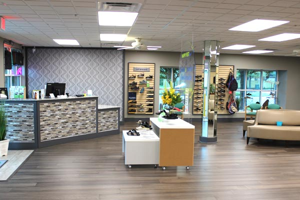 Happy Feet Plus Largo is a full-service store