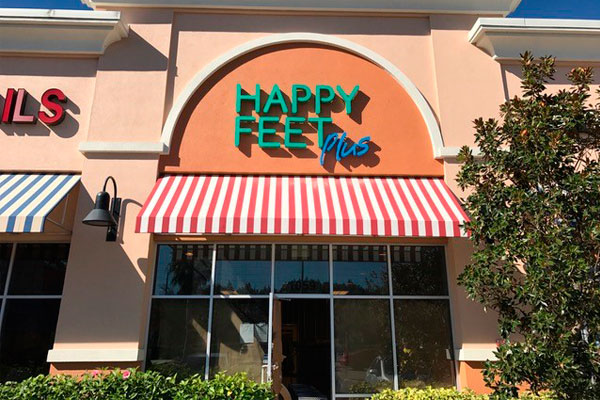 Happy Feet Plus Wesley Chapel Storefront